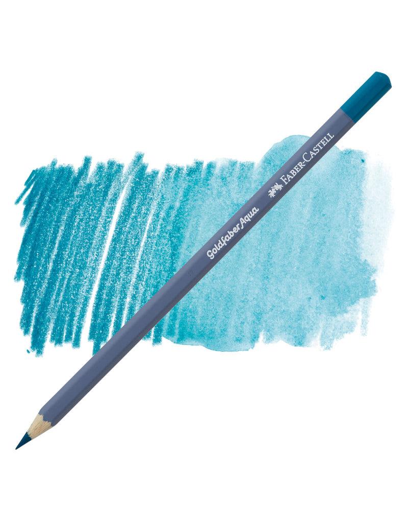 Faber-Castell Goldfaber Aqua Watercolour Pencil Cobalt Turquoise 153