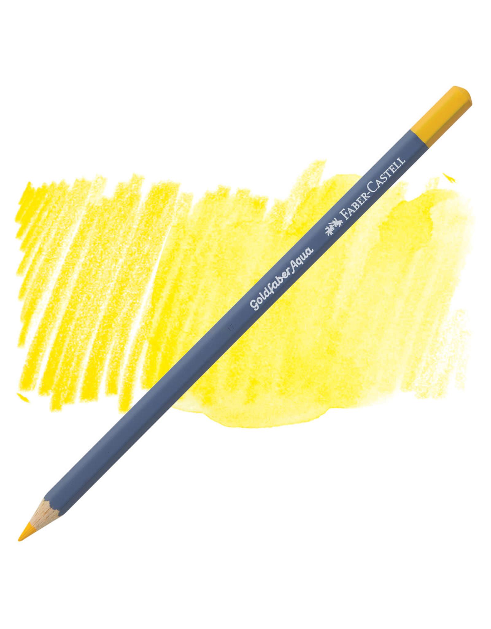 Faber-Castell Goldfaber Aqua Watercolor Pencil - Dk. Cadmium Yellow #108