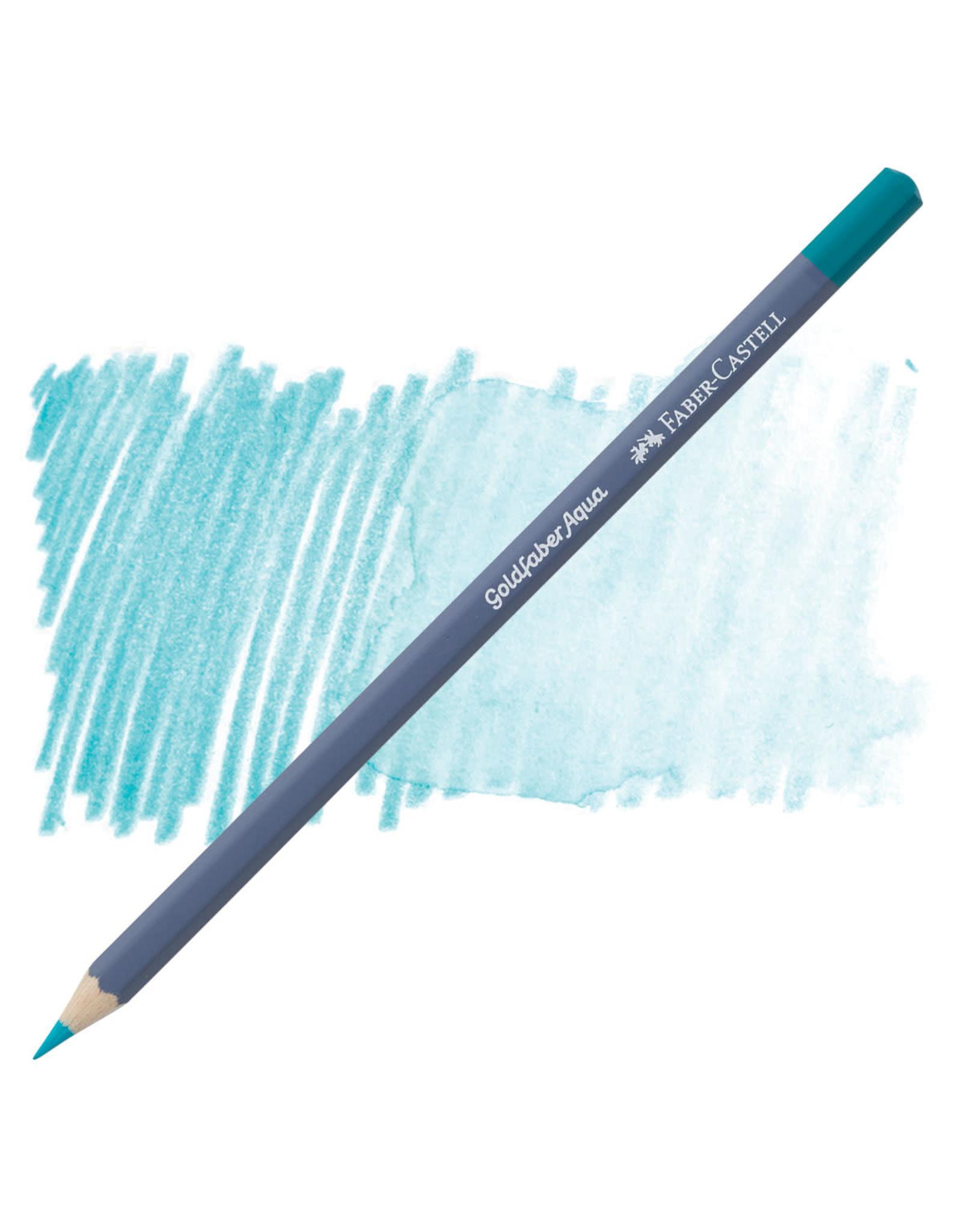 Faber-Castell Goldfaber Aqua Watercolor Pencil - Light Cobalt Turquoise #154