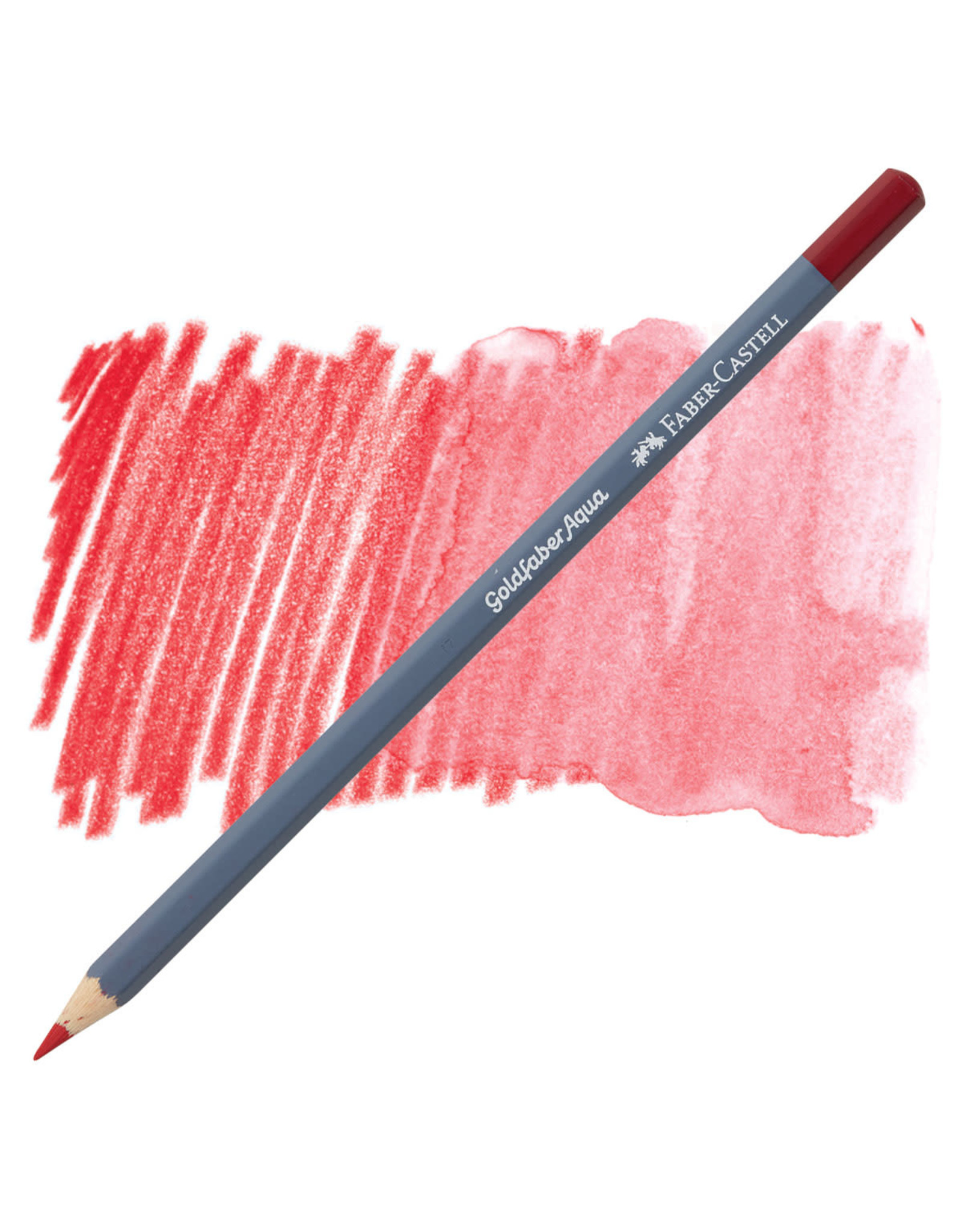 Faber-Castell Goldfaber Aqua Watercolor Pencil - Permanent Carmine #126