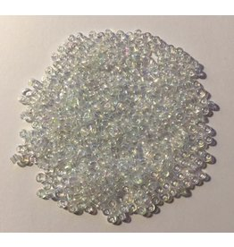 Paws-Itively Pawsome Designs Glass Clear AB Seed Beads 8/0