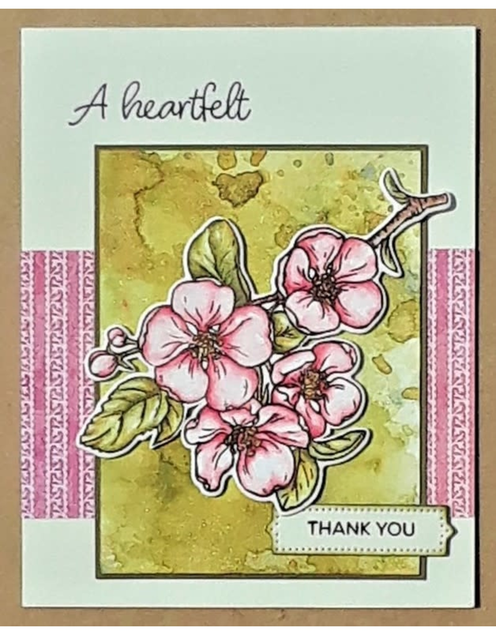 Technique Tuesday Blooming Branches (Greenhouse Society) - Clear Stamp Set