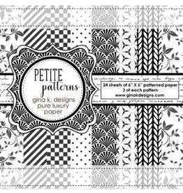 Gina K Designs LLC Pure Luxury Paper 6x6 - Petite Patterns