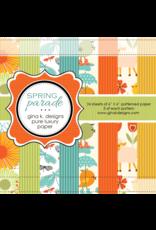 Gina K Designs LLC Spring Parade - 6x6 Paper Pack