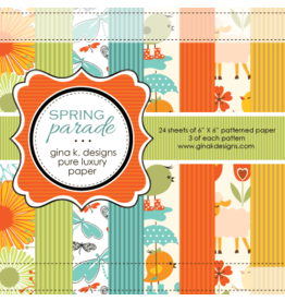 Gina K Designs LLC Pure Luxury Paper 6x6 - Spring Parade
