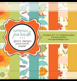 Gina K Designs LLC Pure Luxury Paper 6x6 - Spring Parade