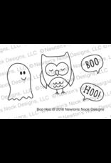 Newton's Nook Boo Hoo - Clear Stamp Set