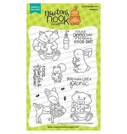 Newton's Nook Woodland Picnic - Clear Stamp Set