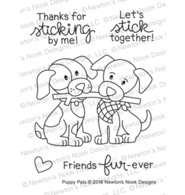 Newton's Nook Puppy Pals - Clear Stamps