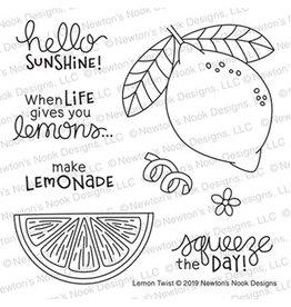 Newton's Nook Lemon Twist - Clear Stamp Set