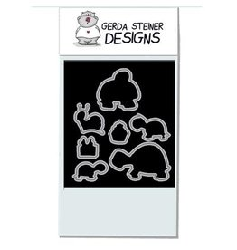 Gerda Steiner Designs Turtley Great! - Die Set