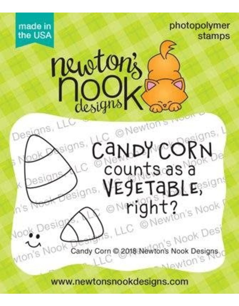 Newton's Nook Candy Corn Clear Stamp Set