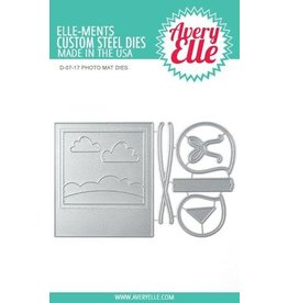 Avery Elle Photo Mat - Die