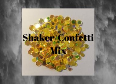 Shaker/Confetti Mix