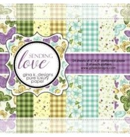 Gina K Designs LLC Pure Luxury Paper 6x6 - Sending Love
