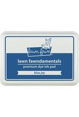 Lawn Fawn Lawn Fawndamentals Dye Ink Pad - Blue Jay