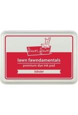 Lawn Fawn Lawn Fawndamentals Dye Ink Pad - Lobster