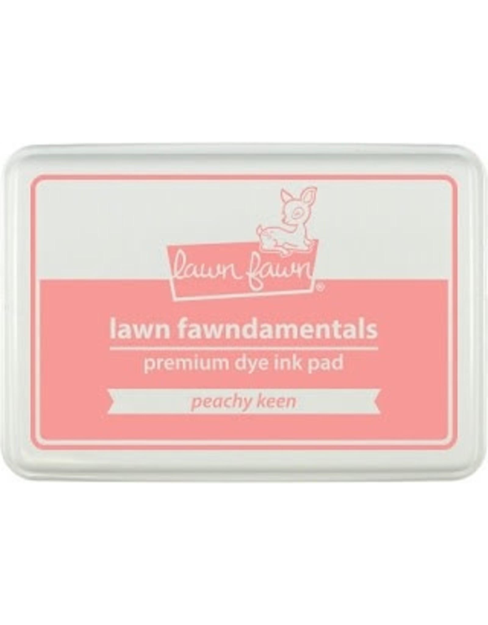 Lawn Fawn Lawn Fawndamentals Dye Ink Pad - Peachy Keen