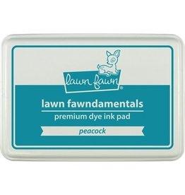 Lawn Fawn Lawn Fawndamentals Dye Ink pad - Peacock