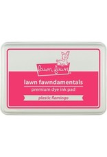 Lawn Fawn Lawn Fawndamentals Dye Ink Pad - Plastic Flamingo