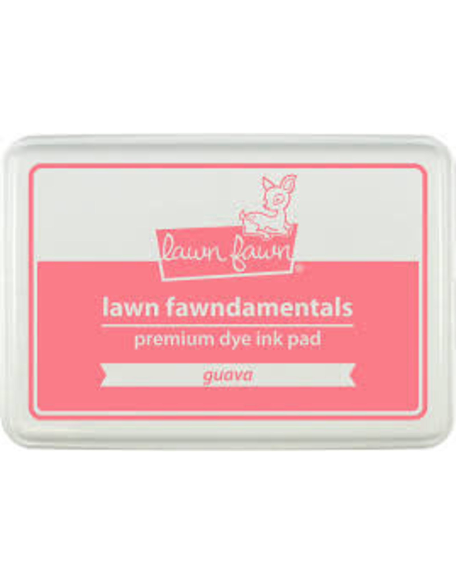 Lawn Fawn Lawn Fawndamentals Dye Ink Pad - Guava