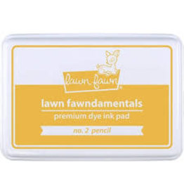 Lawn Fawn Lawn Fawndamentals Dye Ink Pad - No. 2 Pencil