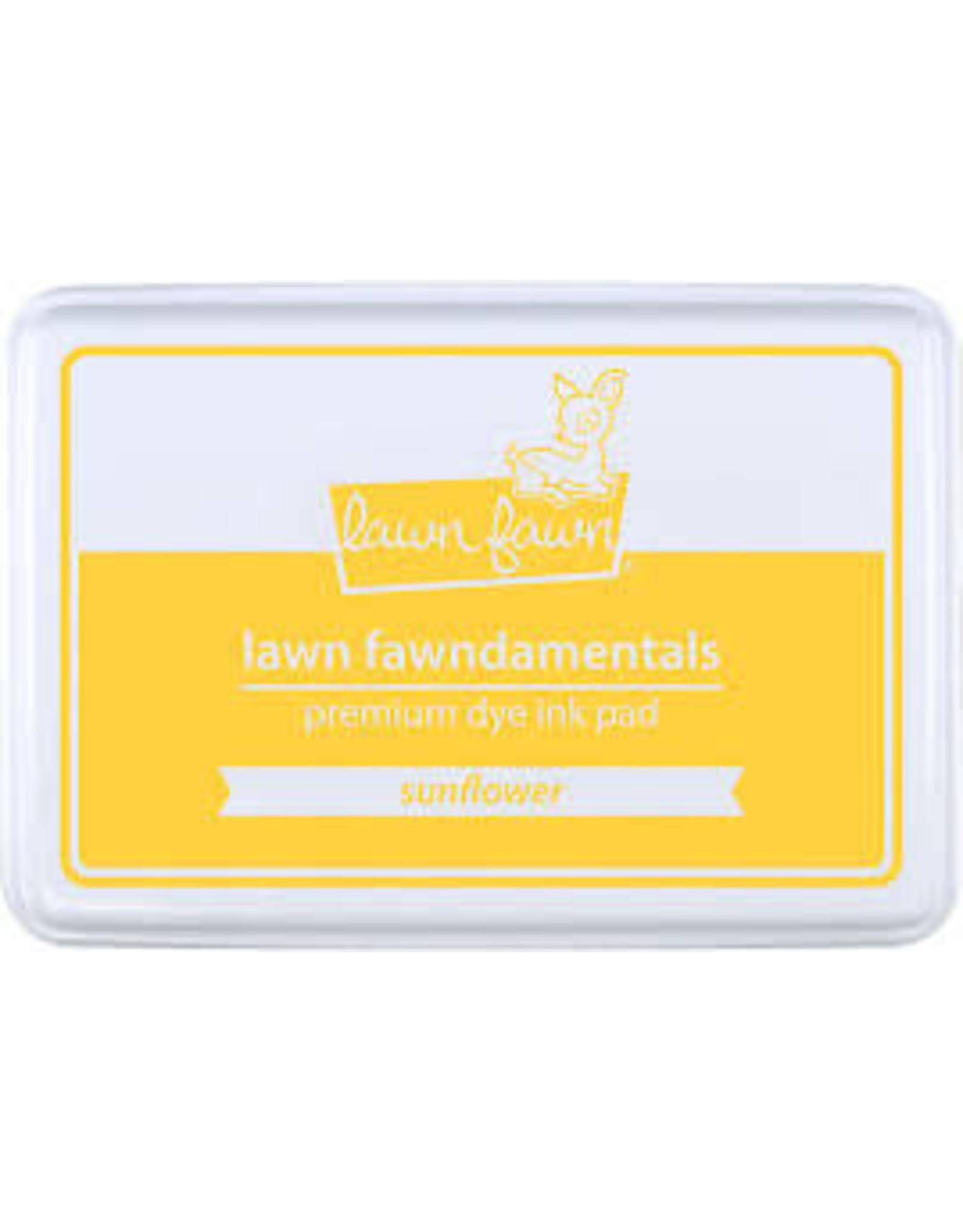 Lawn Fawn Lawn Fawndamentals Dye Ink Pad - Sunflower