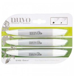 Nuvo Nuvo Alcohol Marker Pen Collection - Irish Clover