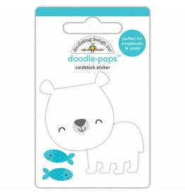 Doodlebug Design Inc. Patrick Polar Bear - Doodle Pops