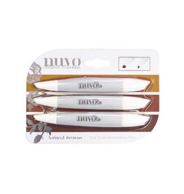 Nuvo Nuvo Alcohol Marker Pen Collection - Natural Browns