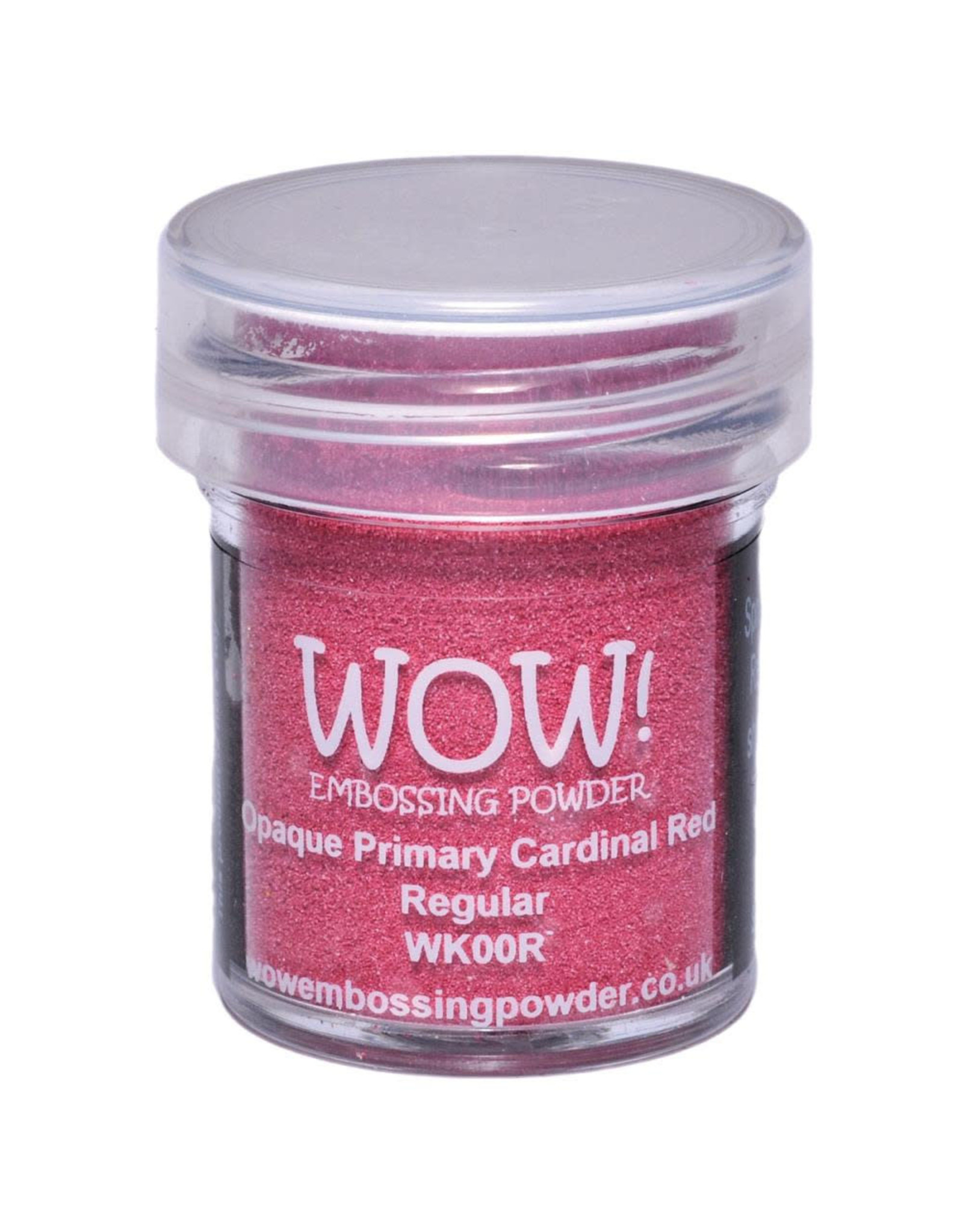 WOW! WOW! Embossing Powder - Opaque Primary Cardinal Red