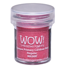 WOW! Embossing Powder - Opaque Primary Cardinal Red