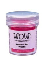 WOW! WOW! Embossing Powder - Metalline Red