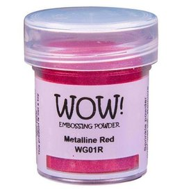 WOW! Embossing Powder - Metalline Red