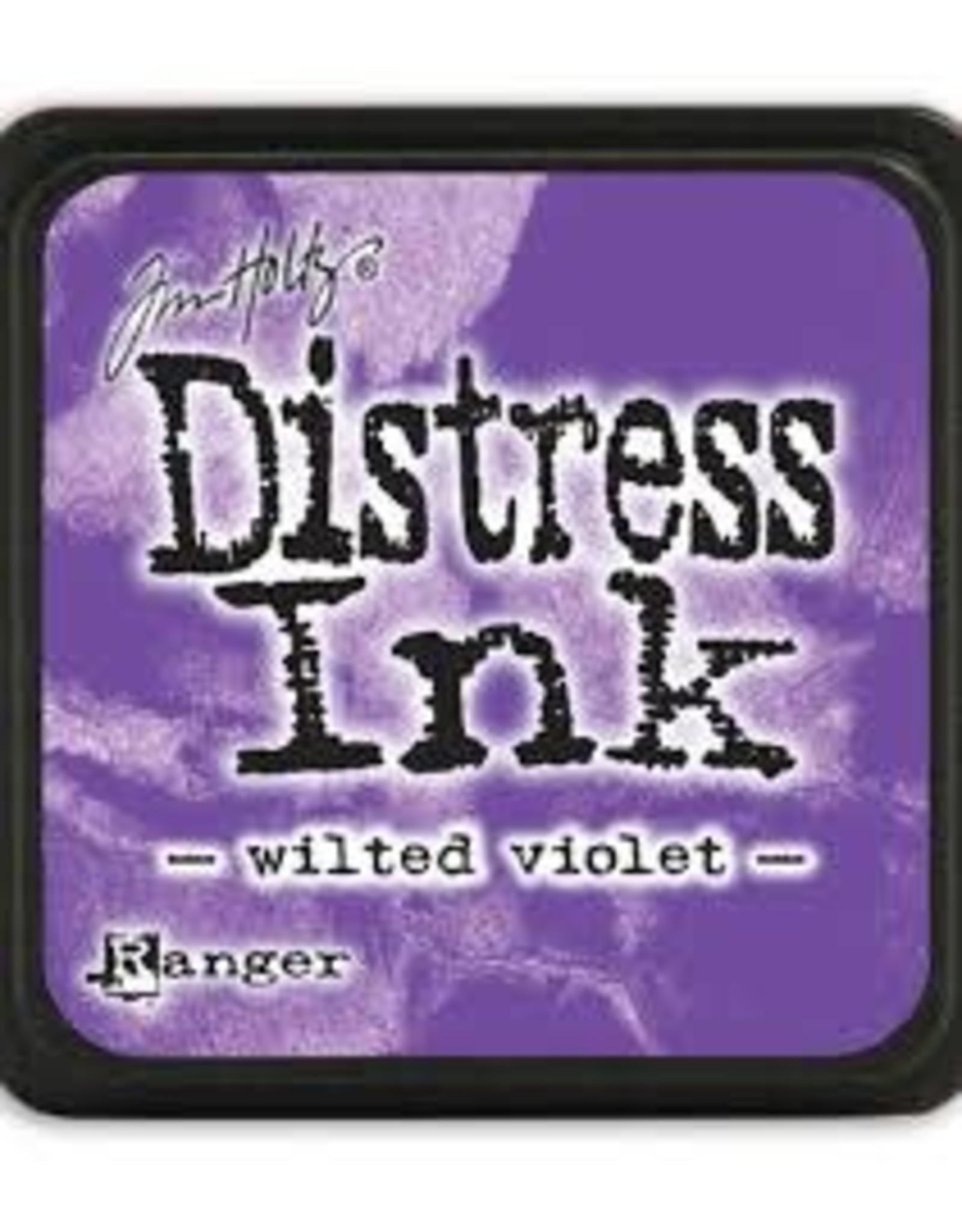 Ranger Distress Ink Pad - Wilted Violet