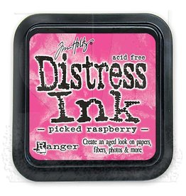 Ranger Distress Ink Pad - Picked Raspberry