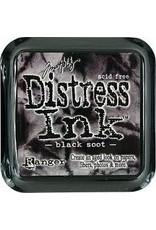 Ranger Distress Ink Pad - Black Soot