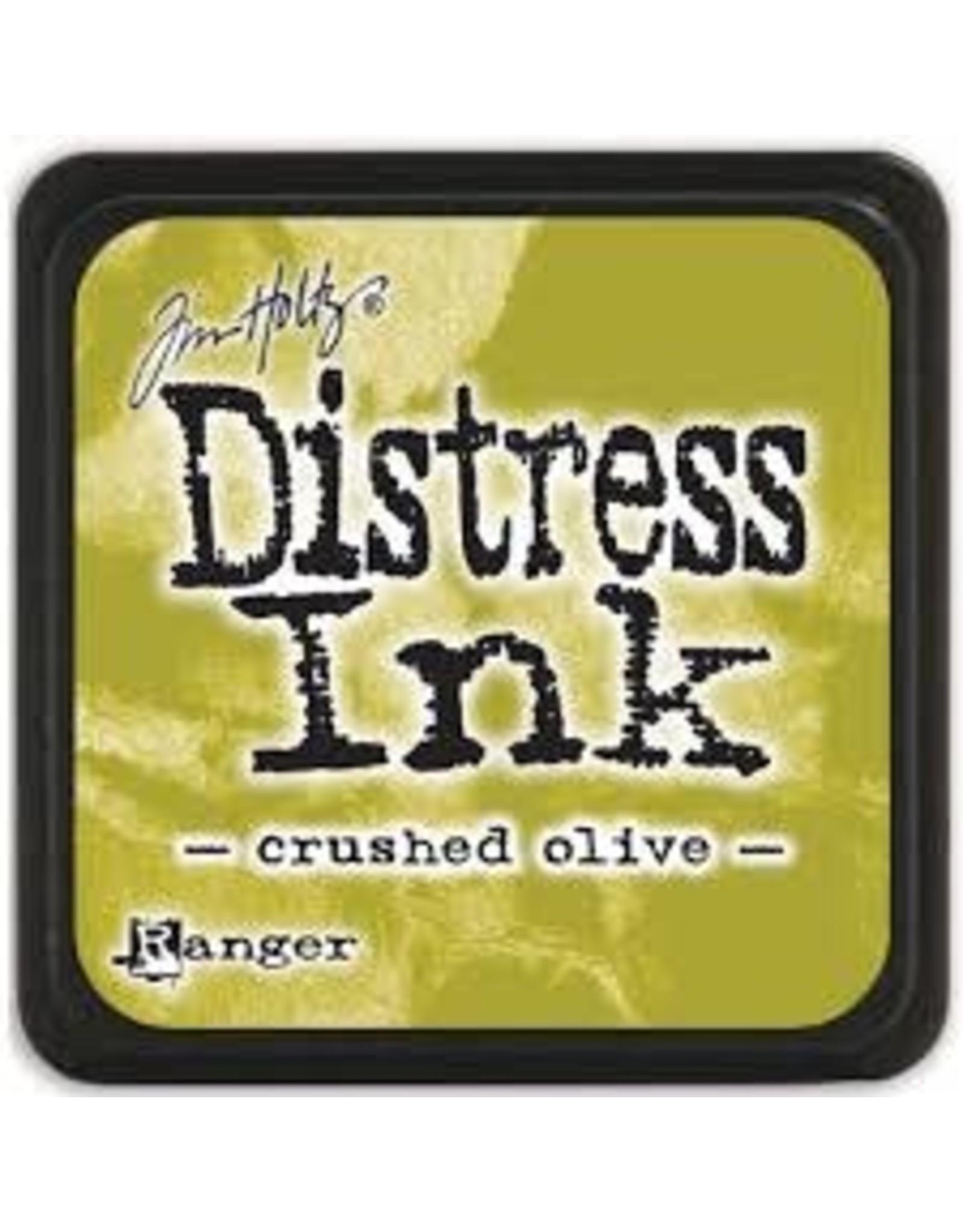 Ranger Distress Ink Pad - Crushed Olive