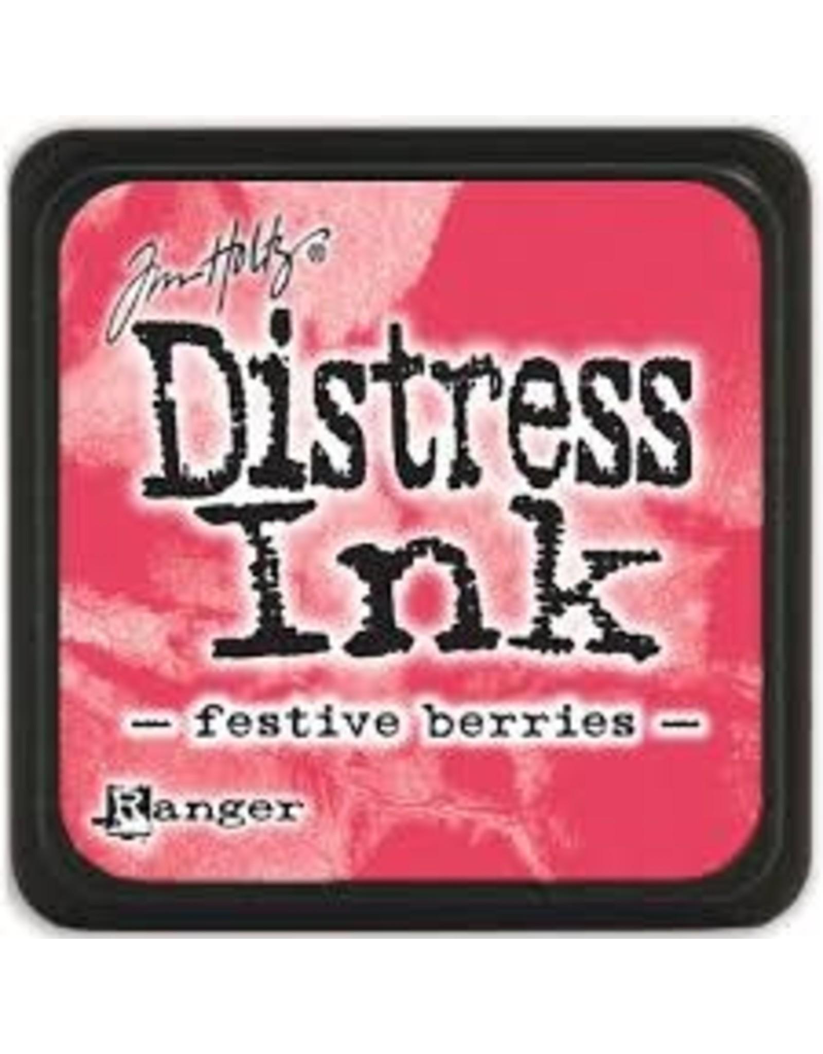 Ranger Distress Ink Pad - Festive Berries