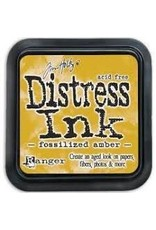 Ranger Distress Ink Pad - Fossilized Amber