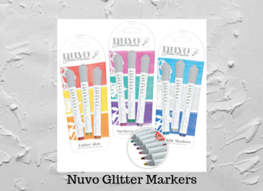 Nuvo Glitter Markers