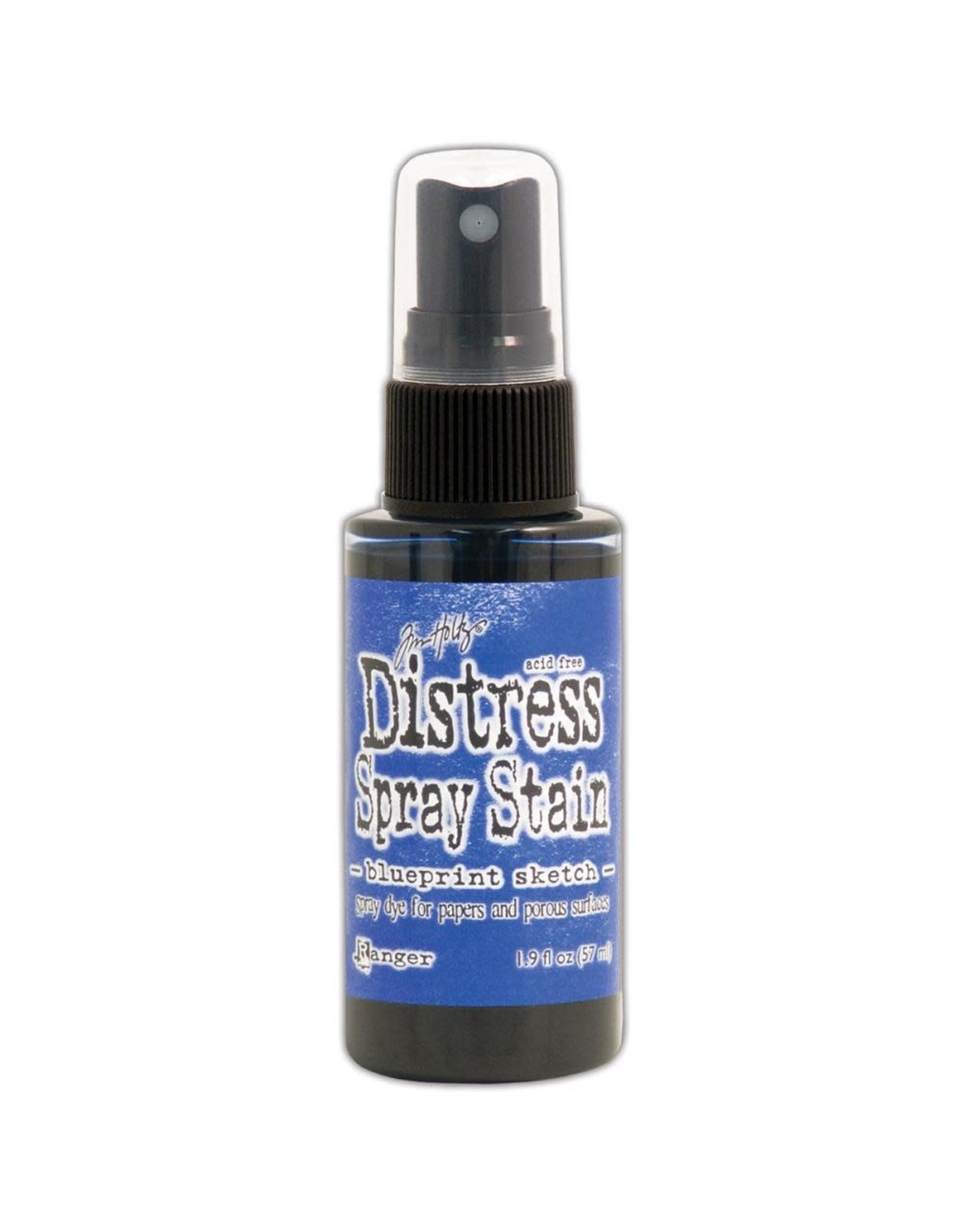 Ranger Distress Spray Stain - Blueprint Sketch