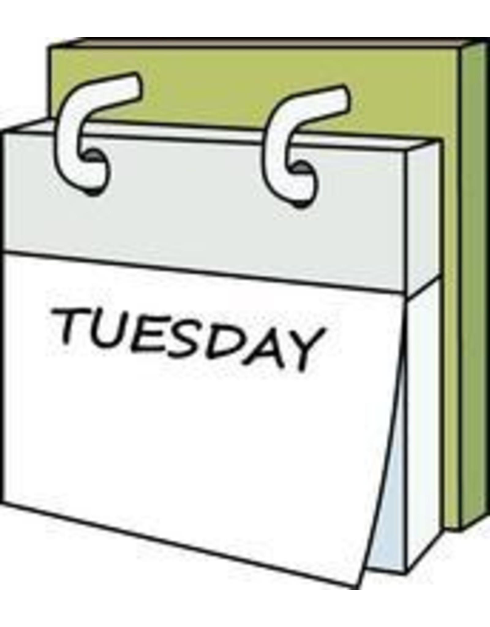 DIE CLUB w/Leanna:  4th Tuesday 3:00-6:00 p.m.