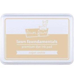 Lawn Fawn Lawn Fawndamentals Dye Ink Pad - Sugar Cookie