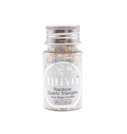 NUVO Nuvo Pure Sheen Confetti - Rainbow Quartz Triangles