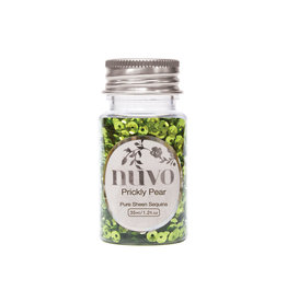 NUVO Nuvo Pure Sheen Sequins - Prickly Pear