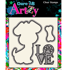 Dare 2B Artzy Dog - Die Set