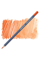 Faber-Castell Goldfaber Aqua Watercolor Pencil - Dk. Cadmium Orange #115