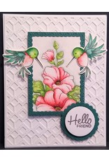 Paws-Itively Pawsome Designs Stitched Lattice Panel - Die