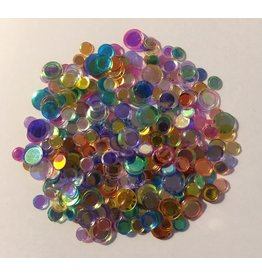 Paws-Itively Pawsome Designs Confetti Mix - Colored AB Sparkle